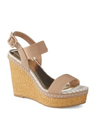 Charles By Charles David Tapia Woven Wedges Beige