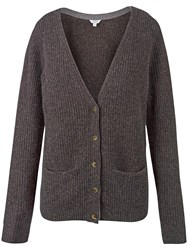 Fat Face Cashmere Chichester Cardigan Chocolate