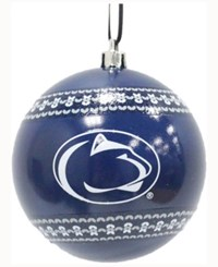 Memory Company Penn State Nittany Lions Ugly Sweater Ball Ornament Navy