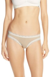 Women's Kensie 'Sparkle Jane' Thong Sable