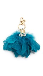 Sophie Hulme Max Key Ring Turquoise
