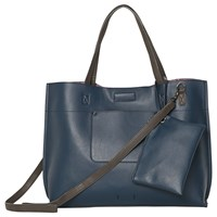 White Stuff Christie Reversible Tote Bag Navy