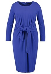 Eloquii Jersey Dress Dazzling Blue Royal Blue