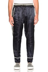 3.1 Phillip Lim Reversible Cropped Pants In Blue