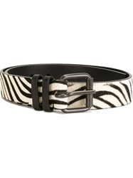 Haider Ackermann 'Animalier' Belt White
