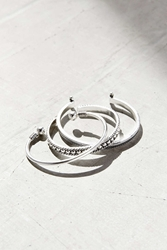Urban Outfitters Festival Cuff Bracelet Set Silver