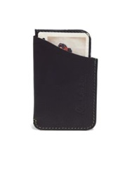 Robert Graham Vincent Printed Leather Slider Wallet Black