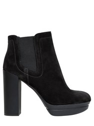Hogan 105Mm Suede Heels