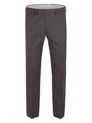 Racing Green Men's Spencer Check Trouser Charcoal