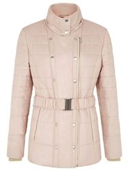 Kaliko Almond Belted Coat Light Pink