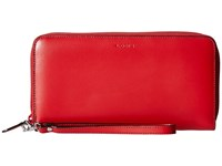 Lodis Audrey Vera Wristlet Wallet Red Black Wallet Handbags