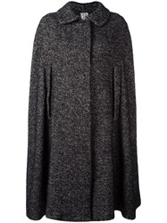 Douuod Herringbone Cape Black