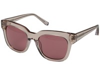 Elizabeth And James Allen Crystal Nude Rose Mono Lens Fashion Sunglasses Brown