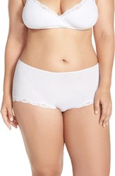 Only Hearts Club Plus Size Women's Organic Cotton Hipster Briefs