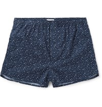 Derek Rose Dixie Cotton Boxers Blue