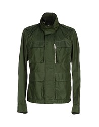 Add Coats And Jackets Jackets Men Dark Green