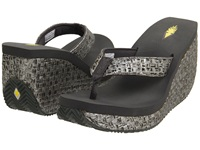 Volatile Cha Ching Pewter Women's Sandals