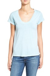 Zadig And Voltaire Women's Slub Cotton Blend Tee Nuage