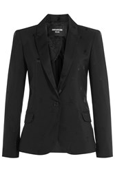 Zadig And Voltaire Star Deluxe Blazer Black