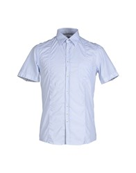 Aglini Shirts Shirts Men Sky Blue