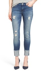 Women's Mavi Jeans 'Erica' Ripped Cuffed Ankle Jeans