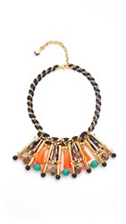 Nocturne Generra Necklace Coral Multi