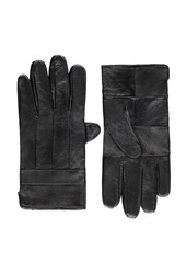 Forever 21 Genuine Leather Gloves Black