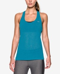 Under Armour Ua Tech Slub Tank Top Aqua Blue