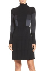 Adrianna Papell Women's Fit And Flare Sweater Dress
