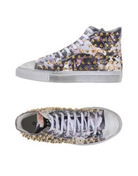 Gienchi Footwear High Tops And Trainers Women Purple