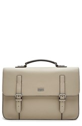 Men's Ted Baker London 'Fredim' Satchel Beige Natural