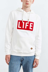 Altru Life Logo Hooded Sweatshirt White