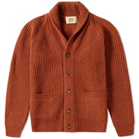 Journal Standard Ribbed Shawl Cardigan Orange