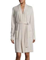Lord And Taylor Cashmere Robe Brown