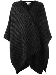 Michael Michael Kors Knitted Cape Black