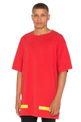 Off White Arrows Tee Red
