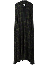 Maison Martin Margiela Checked Long Length Cape