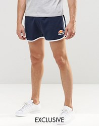 Ellesse Retro Shorts Dress Blue Navy