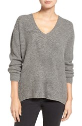 Madewell Women's Jocelyn Wool Pullover Heather Grey