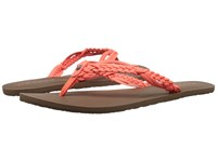 Volcom Tipsy Sandal Electric Coral Women's Sandals Pink