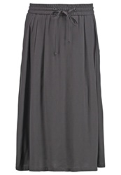 Marc O'polo Pleated Skirt Anthracite