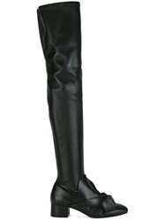 N 21 No21 Bow Detailing Boots Black