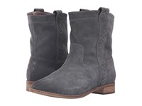 Toms Laurel Boot Castlerock Grey Burnished Suede Women's Pull On Boots Gray