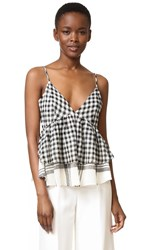 Marissa Webb Jan Cami Birch Gingham Combo