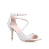 Carvela Gamma High Heel Sandals Silver