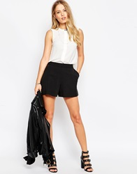 Asos Tailored A Line Shorts Black