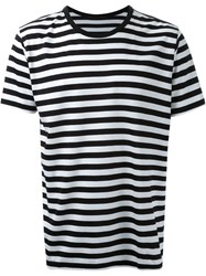 Hl Heddie Lovu Striped T Shirt Black