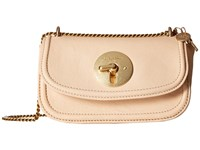 See By Chloe Lois Mini Evening Double Carry Crossbody Nude Clutch Handbags Beige