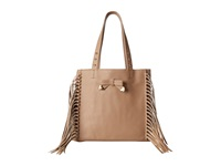 Betsey Johnson Fringe Party Tote Spice Tote Handbags Red
