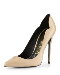 Lust For Life Kash Patent Leather Pointed Toe Pump Nude